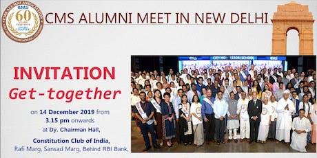 CMS Alumni Meet In New Delhi tickets