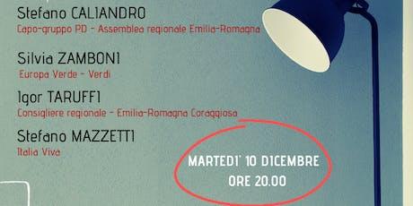 Emilia-Romagna e futuro. Idee a confronto. biglietti