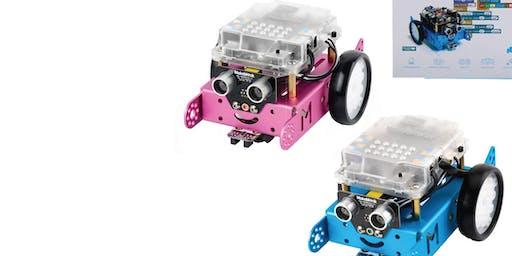 UN ROBOT IMPAZZITO!!! - La Robotica con MBOT 7-13 ANNI