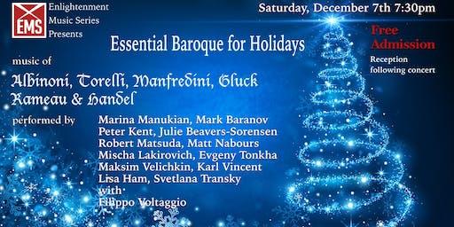 Essential Baroque for Holidays