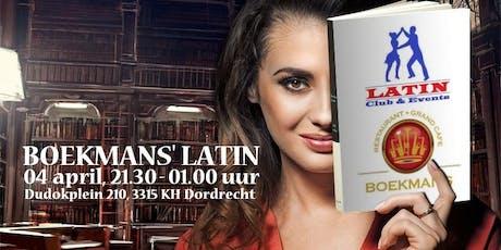 Boekmans' Latin Chapter III tickets