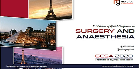 2nd Edition of Global Conference on Surgery and Anaesthesia billets
