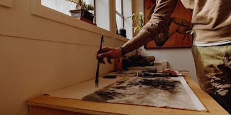 Le bar créatif, atelier artistique amateur billets