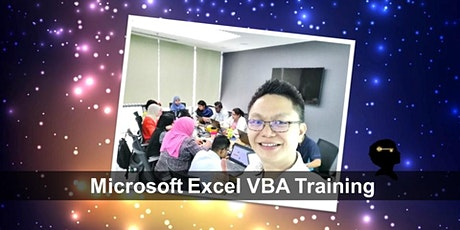MICROSOFT EXCEL MACRO/VBA COURSE tickets