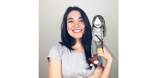 Raquel Riba Rossy y Lola Vendetta