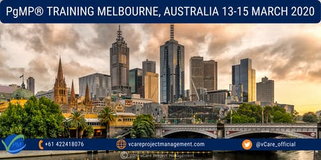 PgMP | Program Management Certification | Training | Melbourne | 2020 tickets