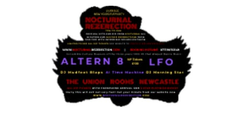 Nocturnal Rezerection  The Over 30s New Years Eve Dance Party tickets
