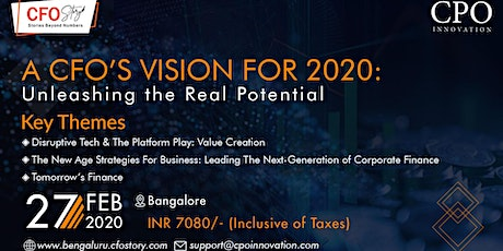 The CFO Story Forum 2020| Bengaluru Edition tickets