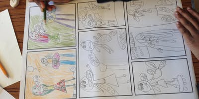 Comic book workshop | 9-11 year olds
