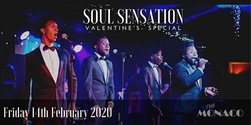 Soul Sensation with LIVE Band Valentines Special - Soul & Motown Night