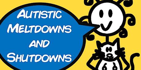 MELTDOWNS/SHUTDOWNS & AUTISM (Webinar with Lucy) tickets