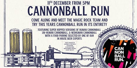 Cannonball Run at The Head of Steam Park Row tickets