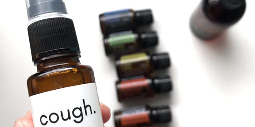 Essential Oils for Cold Season: A Make & Take Event with Throat Spray