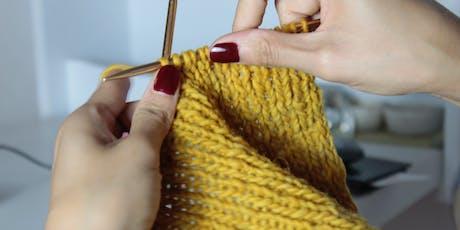 Beginner Knitting Workshop - 13th December tickets