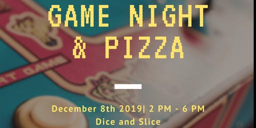 Sister's Circle Game Night and Pizza