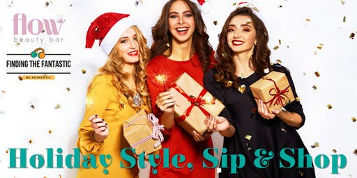 Holiday Style Sip and Shop Fundraising Event