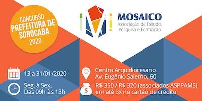 Curso Preparatório para Concurso de Professores da Prefeitura de Sorocaba