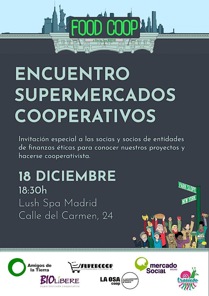 Imagen de FOOD COOP - Encuentro de SUPERMERCADOS COOPERATIVOS en LUSH Spa Madrid