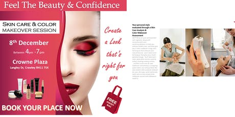 Crawley - Skin and Makeover Session tickets