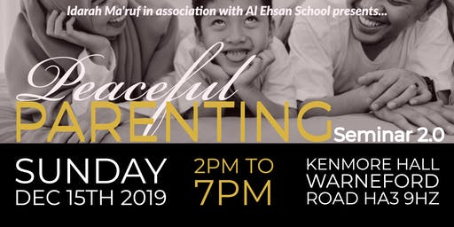 Peaceful Parenting Seminar 2.0