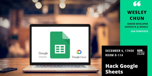 Hack Google Sheets: Hand's on workshop with a Googler