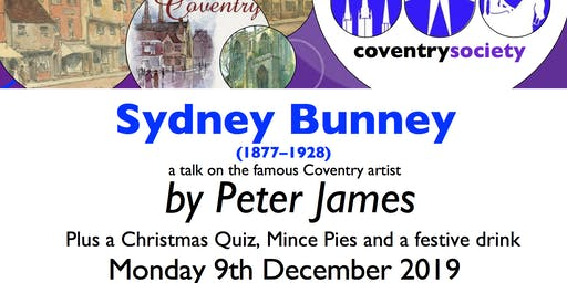 Coventry Society Christmas Meeting 2019