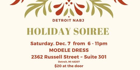 Detroit NABJ 2019 Holiday Soiree tickets