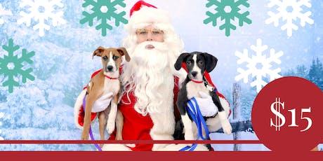 Pet Photos With Santa Fundraiser tickets