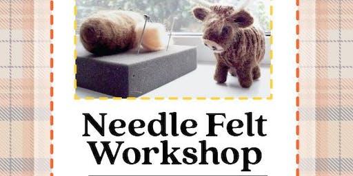Needle Felt Workshop - Highland Cow