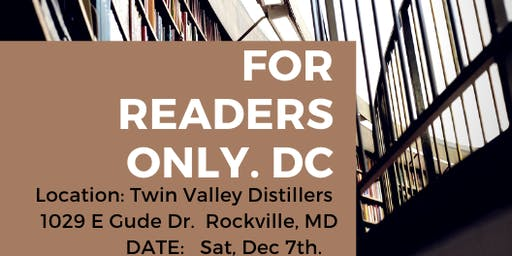 For Readers Only.DC Book Club Launch