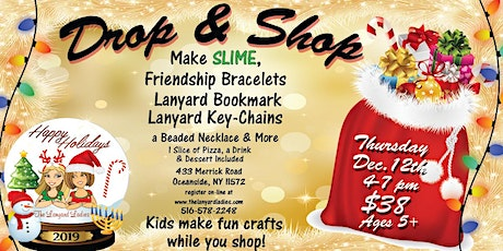 Drop & Shop Slime Day tickets