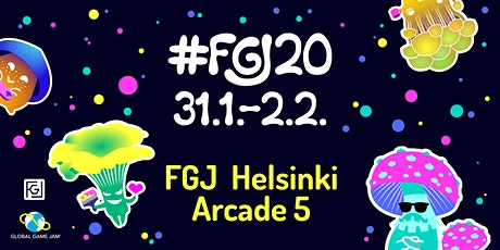 FGJ Helsinki Arcade 5 tickets