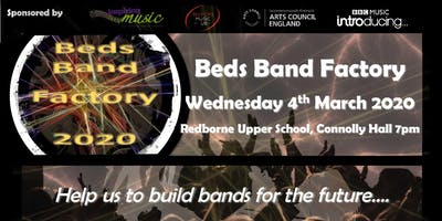 Bedfordshire Band Factory (Performance for KS3 students)