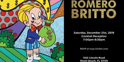 Romero Britto VIP Cocktail Reception
