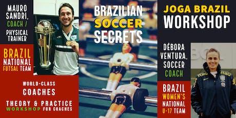 JOGA BRAZIL WORKSHOP  for Coaches - Burlingamer tickets
