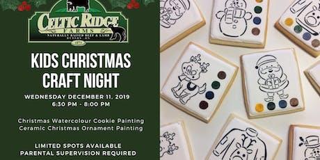 Kids Christmas Craft Night at Celtic Ridge tickets