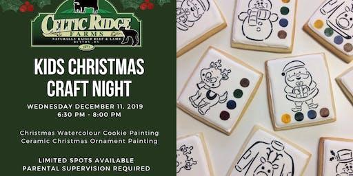 Kids Christmas Craft Night at Celtic Ridge