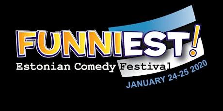funniEST Estonian Comedy Festival tickets