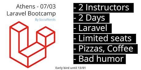 Laravel Bootcamp - SocialNerds tickets