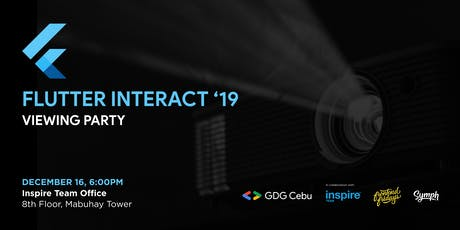 Flutter Interact: Viewing Party tickets