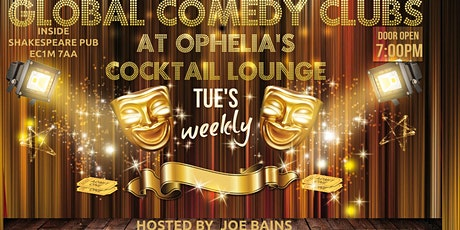Ophelia's Cocktails & Comedy tickets