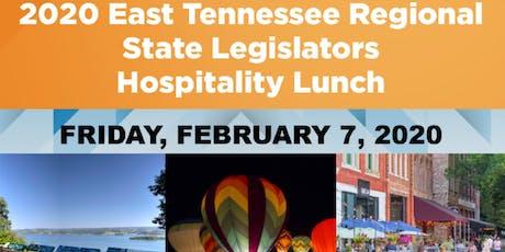 2020 East Tennessee Region State Legislators - Hospitality Lunch tickets