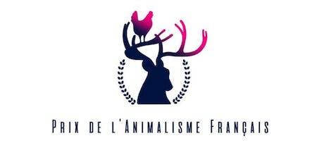 Prix de l'Animalisme Français - Cérémonie 2020 billets