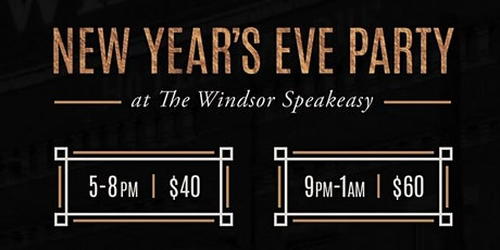 New Years Eve at The Windsor Speakeasy tickets