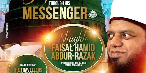 Journey to Allah - Through His Messenger ﷺ | Shaykh Faisal Hamid Abdur-Razak (Sat 7th Dec | 7:30PM)