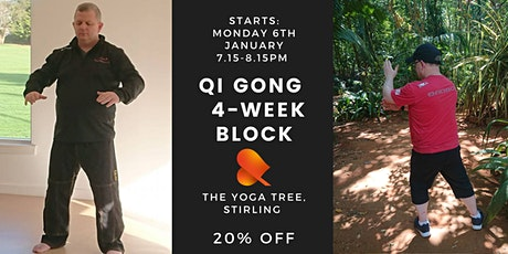 Qi Gong: 4-Week Block -Stirling - Individual Sessions tickets