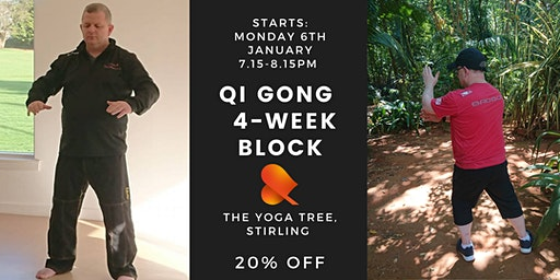 Qi Gong: 4-Week Block -Stirling - Individual Sessions