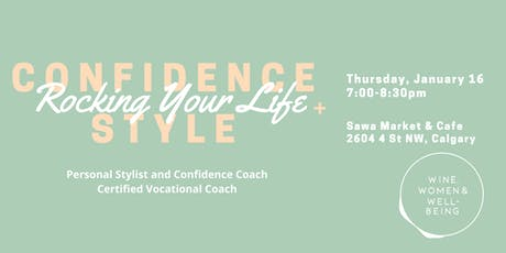 Confidence, Style & Rocking Your Life tickets
