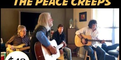 The Peace Creeps W/ Richard Bush Acoustic - Sat Jan 18 $ 12 7:30