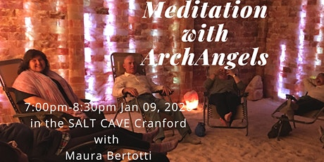 Meditation with ArchAngels in the SALT CAVE  with Maura Bertotti tickets